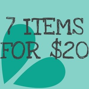 7 items for $20